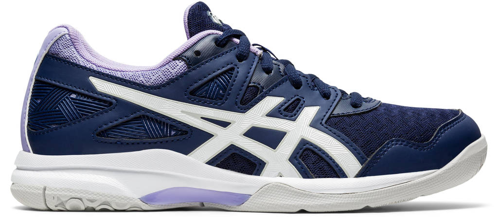 ASICS Gel-Task 2 sportschoenen donkerblauw/wit/lila