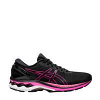 ASICS Gel-Kayano 27 hardloopschoenen zwart/roze, Zwart/roze