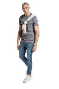 Tom Tailor gestreept T-shirt donkerblauw/wit, Donkerblauw/wit