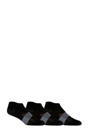 hardloop enkelsokken (set van 3) zwart