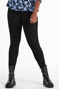 JUNAROSE skinny jeans JRZEROTANJA black, Zwart