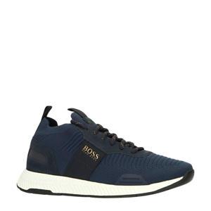 Titanium_Runn_knst  sneakers donkerblauw