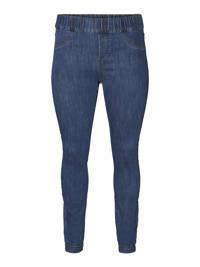 JUNAROSE skinny fit legging dark blue denim, Dark blue denim