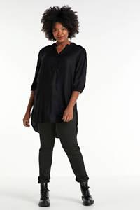 JUNAROSE tuniek zwart, Zwart