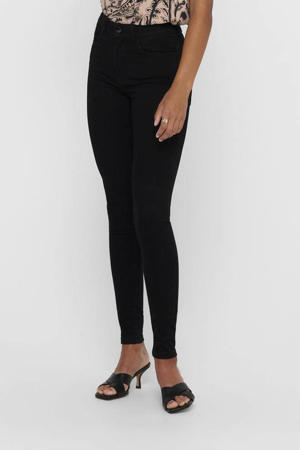 high waist skinny jeans JDYNEWNIKKI black denim