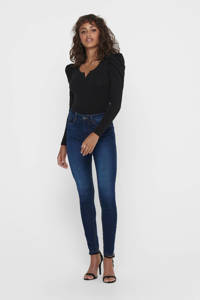 JACQUELINE DE YONG skinny jeans blauw, Blauw
