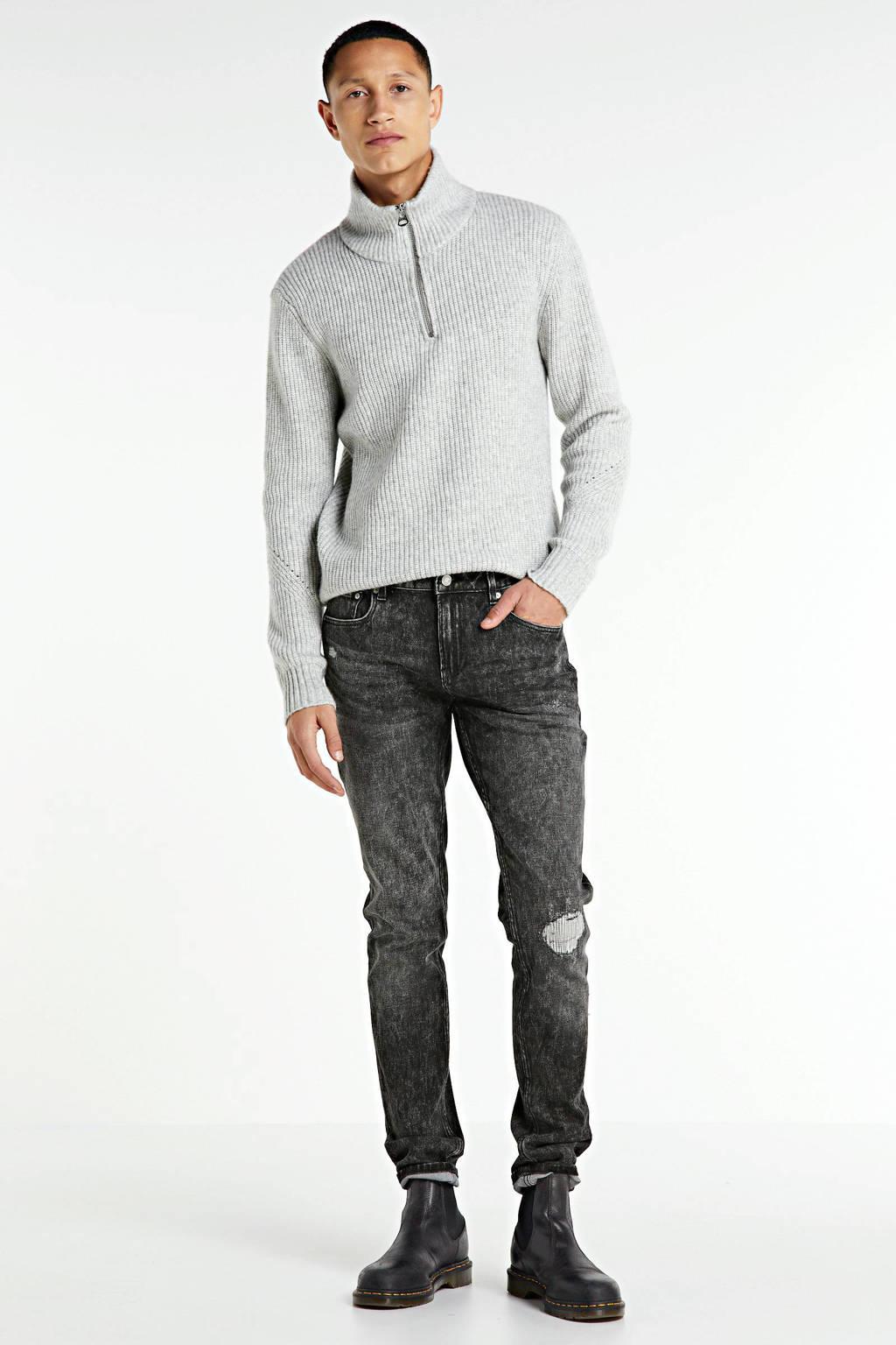 Scotch & Soda skinny jeans Skim zwart, Zwart