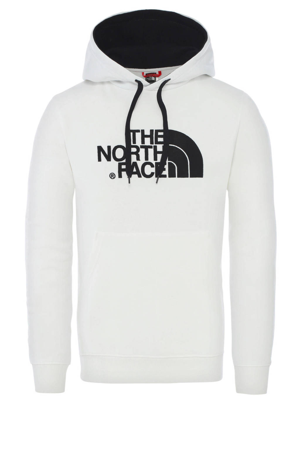 The North Face hoodie wit/zwart, Wit/zwart
