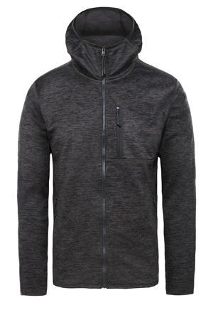 fleece vest antraciet
