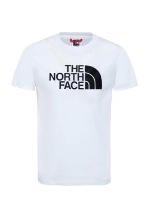 T-shirt Easy wit/zwart