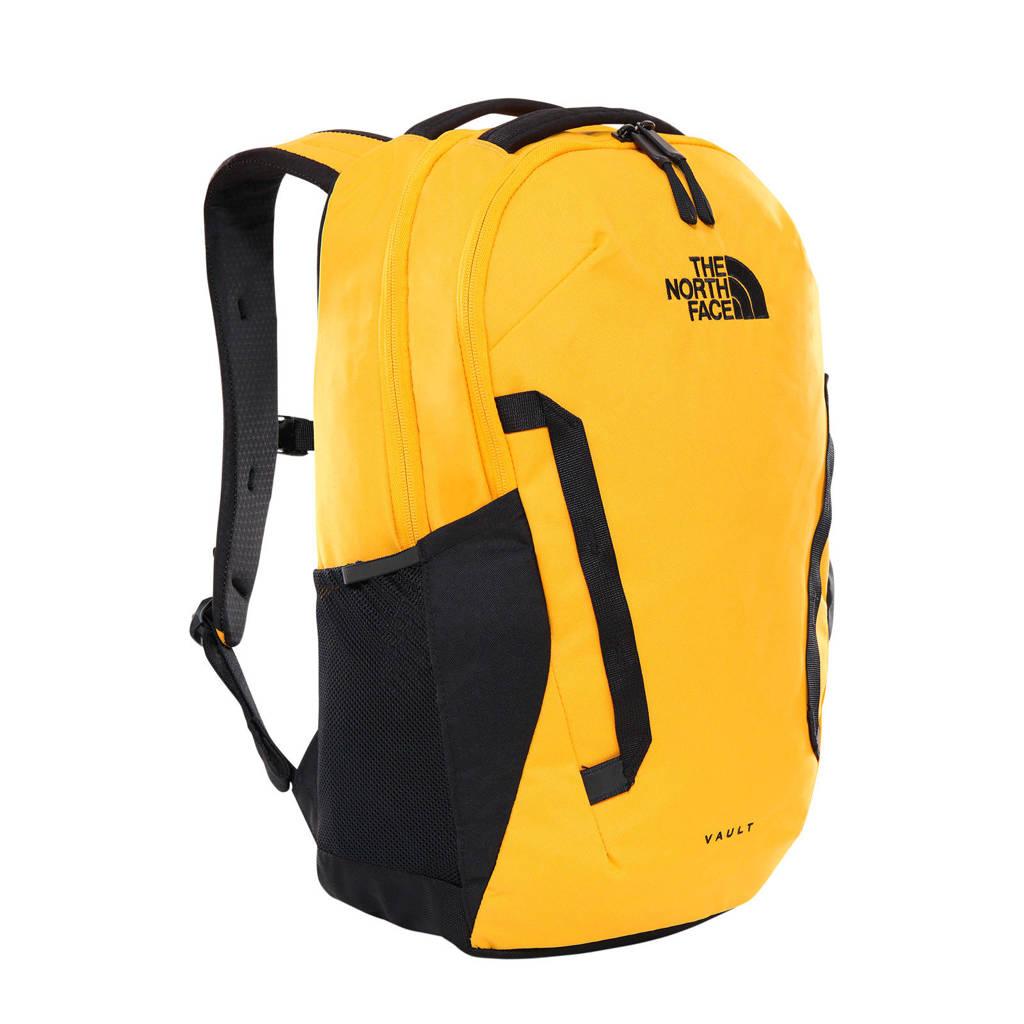 The North Face   rugzak geel/zwart, Geel/zwart