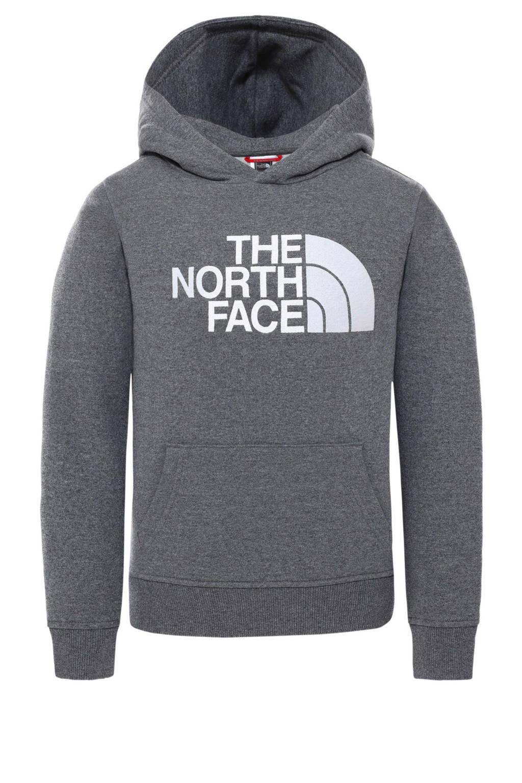 The North Face hoodie grijs/wit, Grijs/wit