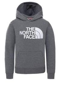 The North Face unisex hoodie grijs/wit, Grijs/wit
