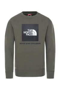 The North Face sweater kaki, Kaki