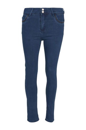 slim fit jeans dark denim/brons