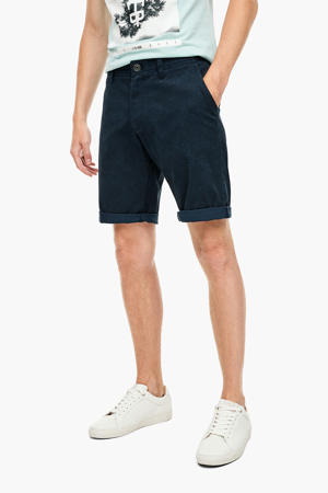 regular fit bermuda blauw