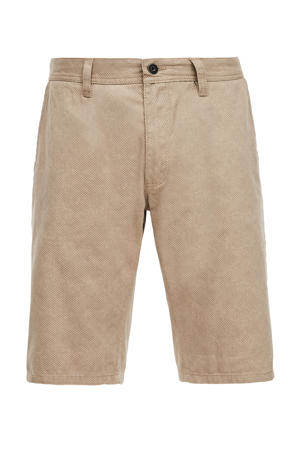 regular fit bermuda beige