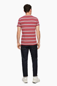 Q/S designed by gestreept T-shirt rood/roze, Rood/roze