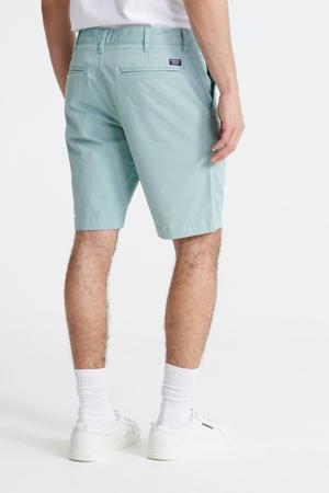 regular fit bermuda groen