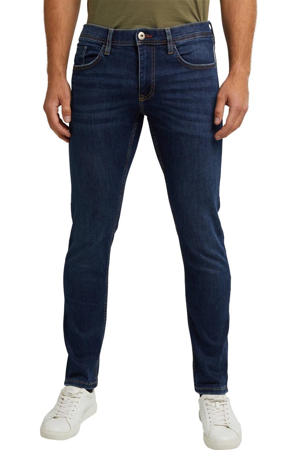 ESPRIT regular fit jeans dark denim, Dark denim