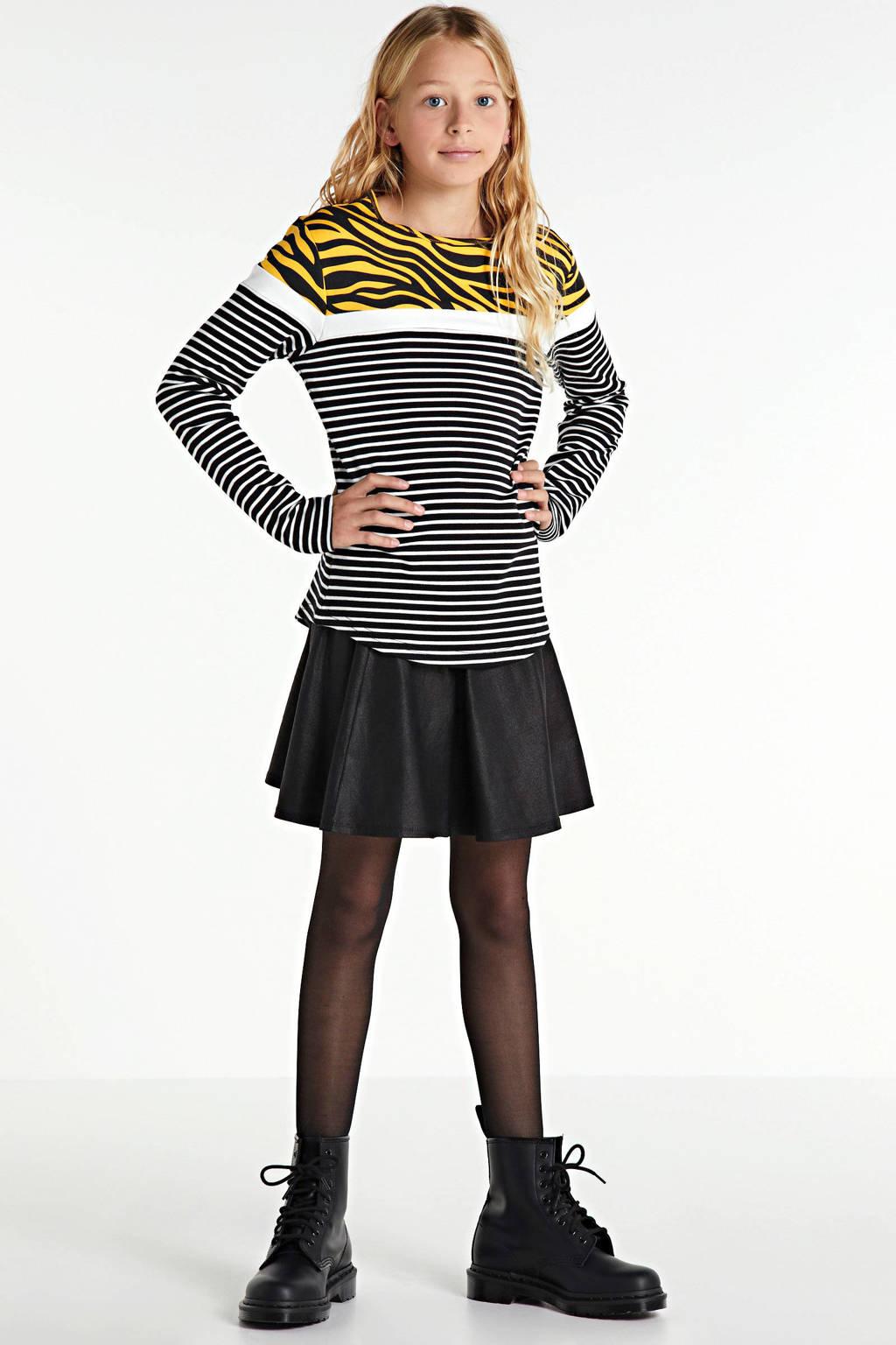 Zigga coated rok zwart, Zwart