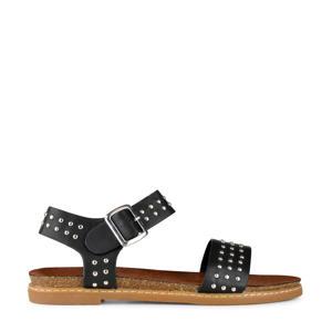sandalen met studs zwart