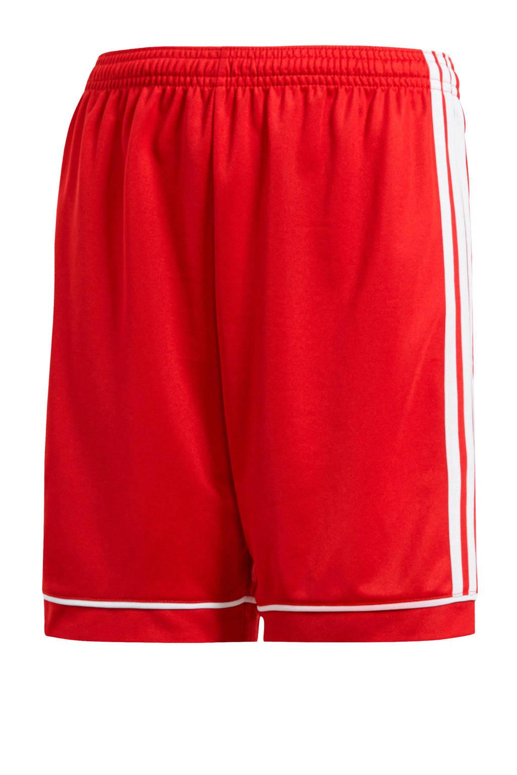 adidas Performance Junior  voetbalshort rood, Rood