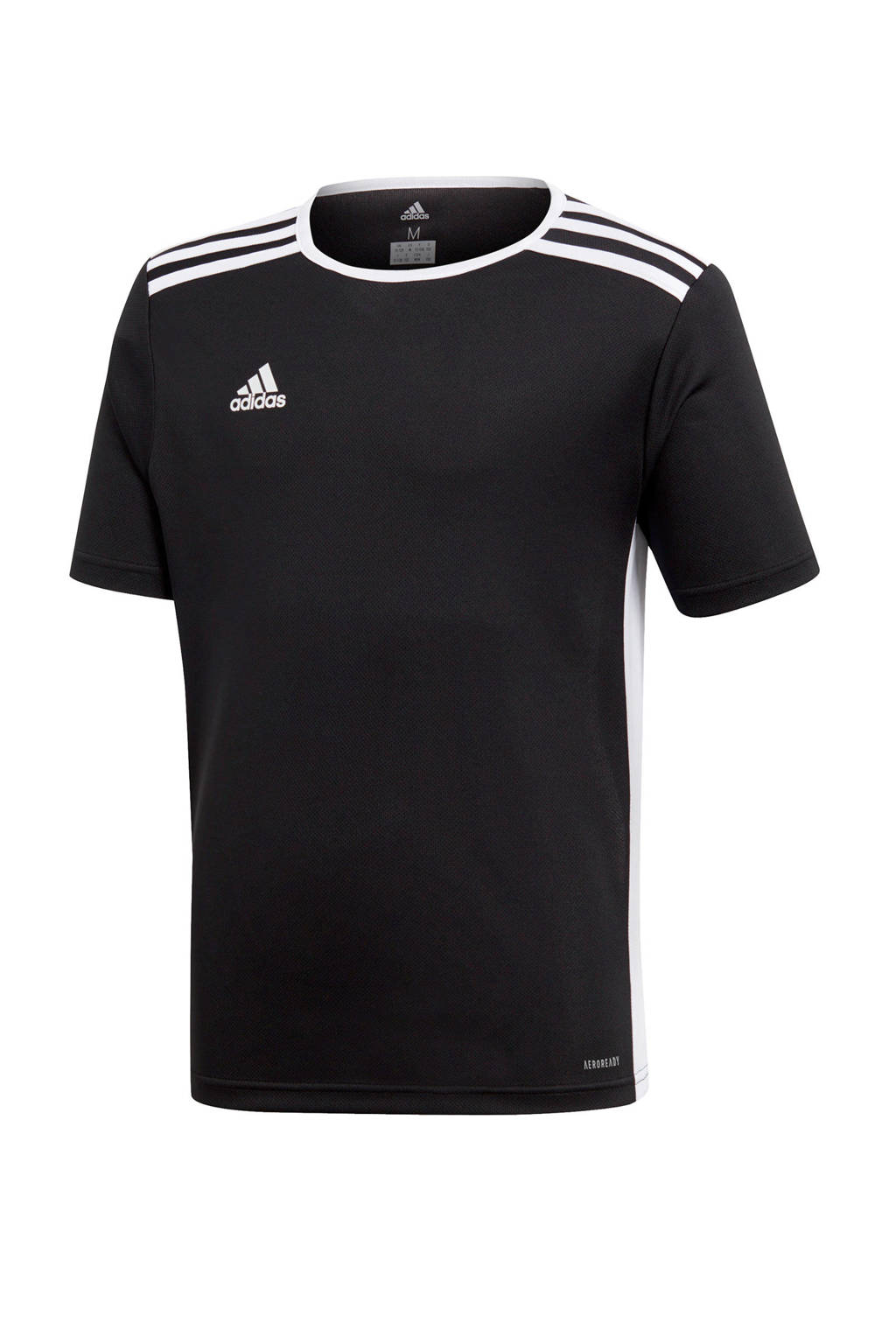 adidas Performance Junior  voetbalshirt zwart, Zwart