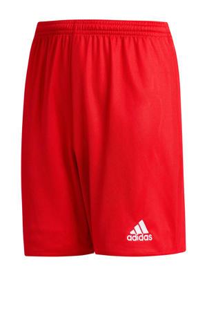Junior  voetbalshort rood