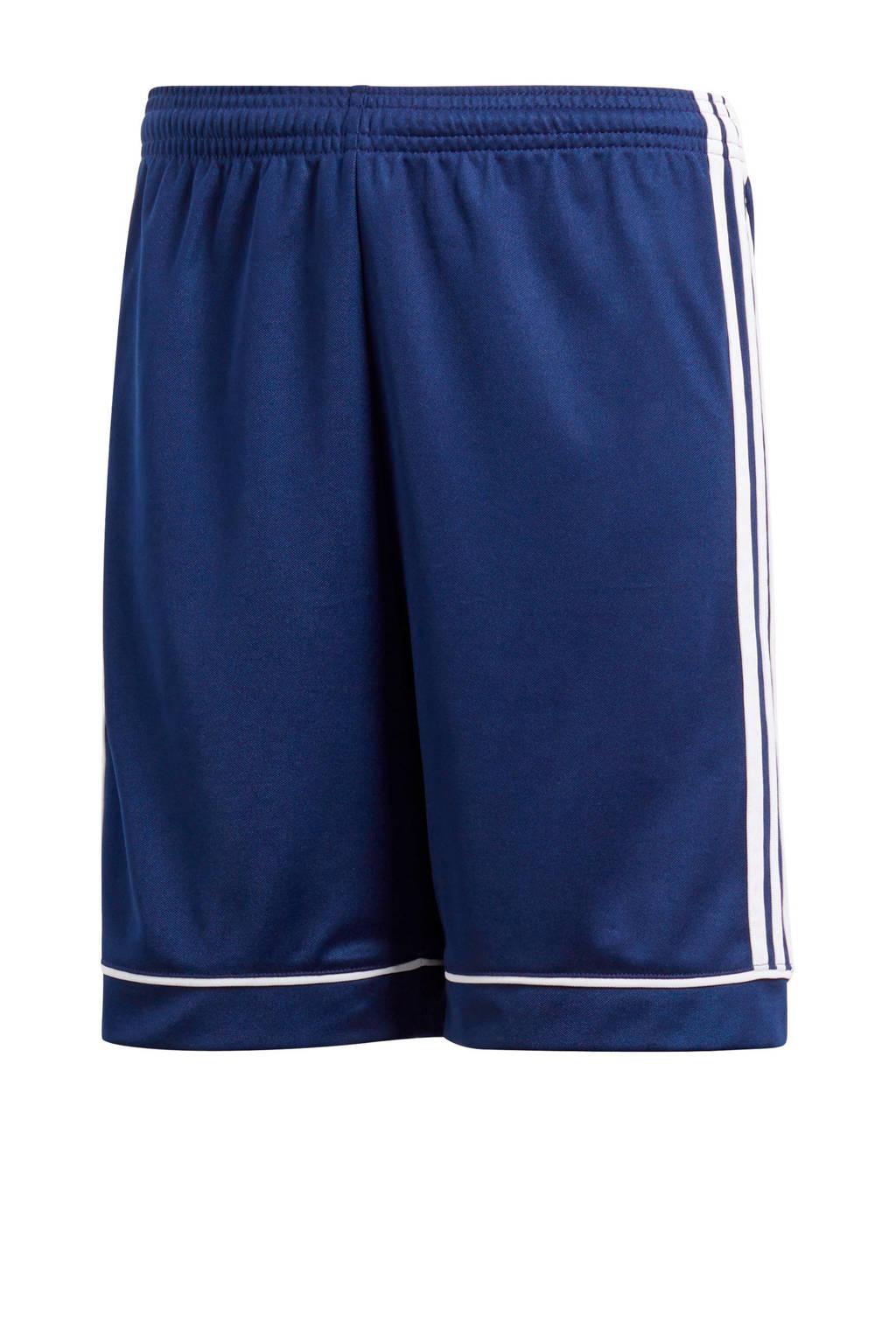 adidas Performance Junior  voetbalshort donkerblauw, Donkerblauw