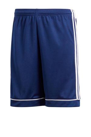 Junior  voetbalshort donkerblauw