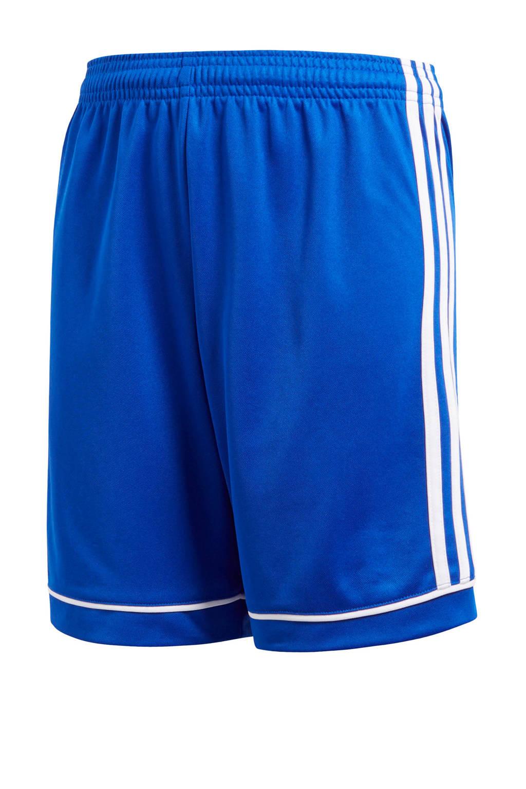 adidas Performance Junior  voetbalshort blauw, Blauw