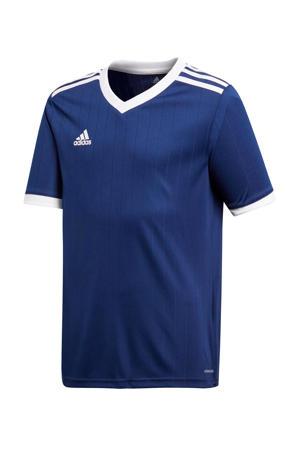 Junior  voetbalshirt donkerblauw