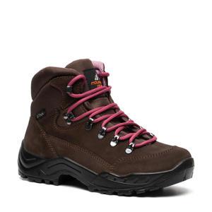 leren wandelschoenen bruin/roze
