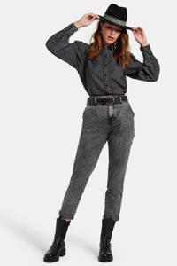 Eksept by Shoeby blouse black denim, Black denim