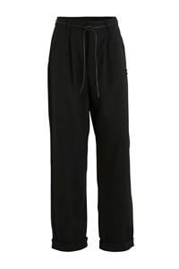 10DAYS high waist loose fit broek loose party pants zwart, Zwart