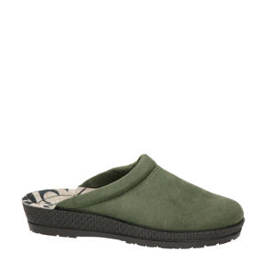 pantoffels kaki