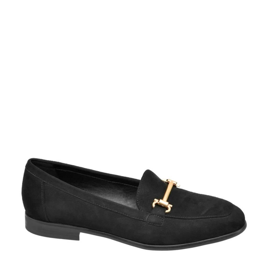 Graceland   loafers zwart/goud, Zwart/goud