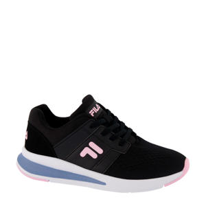 sneakers zwart/roze