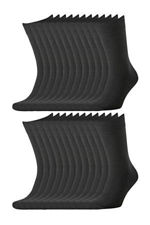 sokken - set van 20 zwart