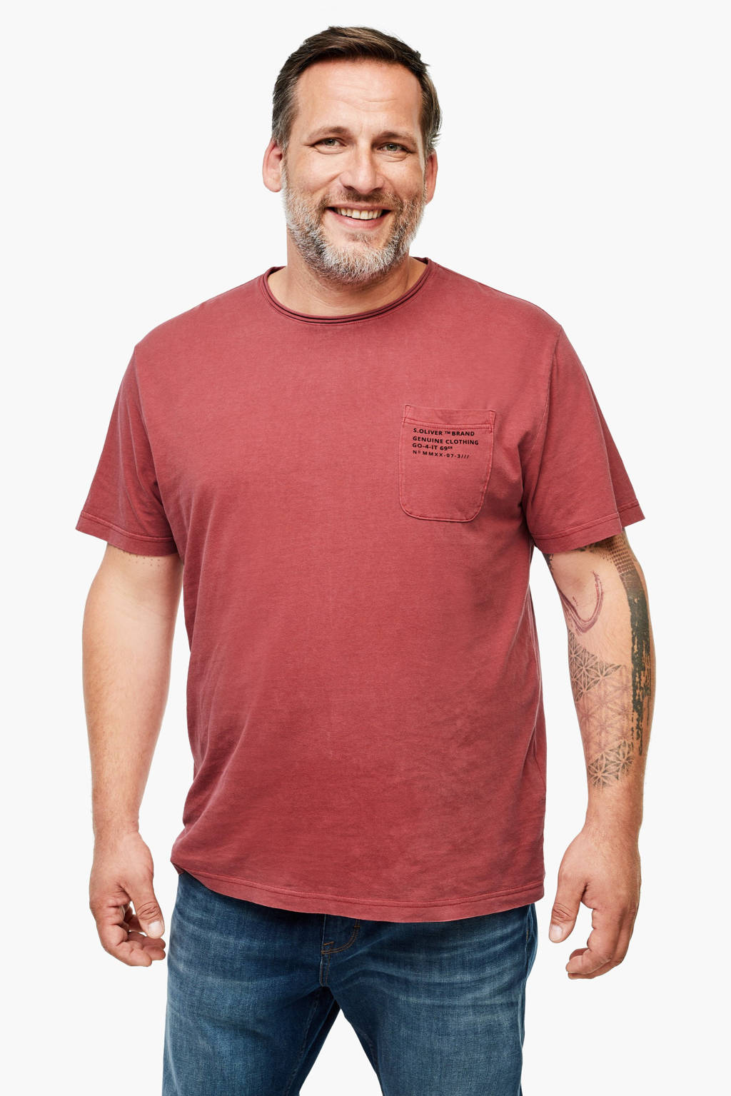 s.Oliver T-shirt rood, Rood