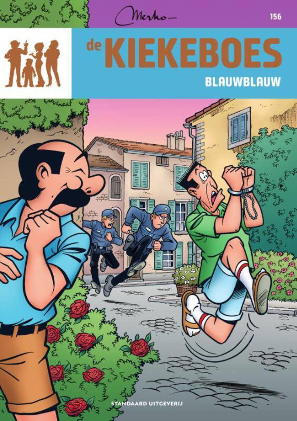 de Kiekeboes: Blauwblauw