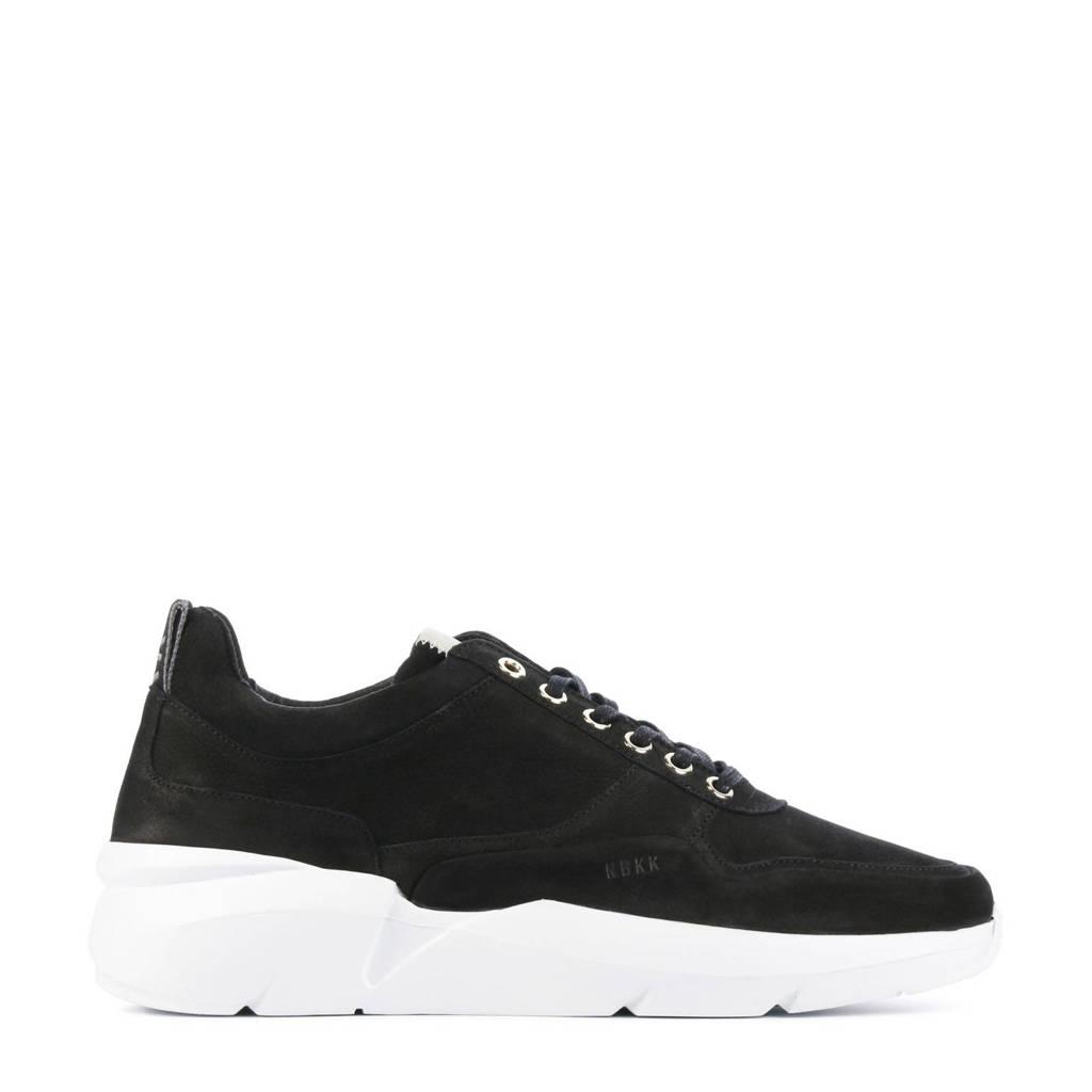 Nubikk Tanuki Fresh  nubuck sneakers zwart, Zwart
