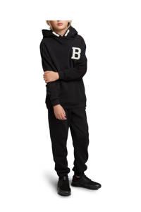 Björn Borg hoodie met logo zwart, Zwart