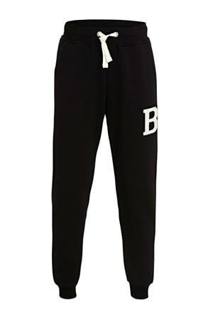 joggingbroek Sport met printopdruk zwart