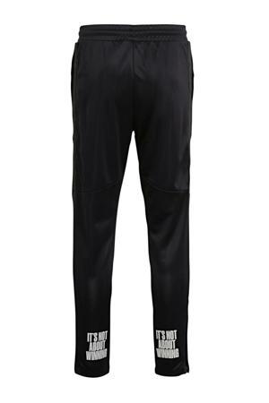 sportbroek Hugo van gerecycled polyester zwart