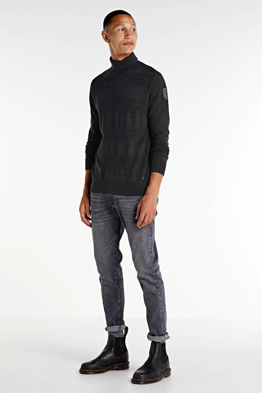 SELECTED HOMME slim fit jeans Leon grijs, Grijs