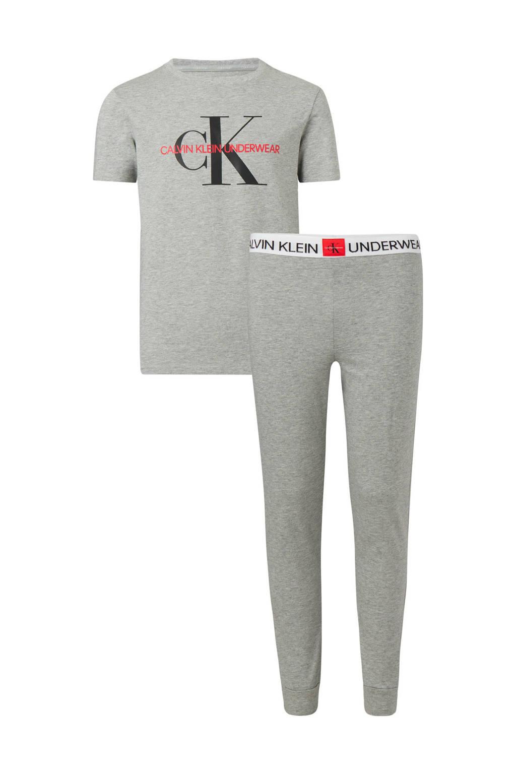 CALVIN KLEIN   pyjama grijs, Grijs