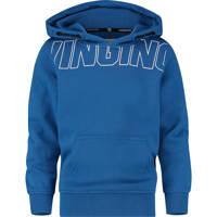 Vingino hoodie Nastano met logo blauw, Blauw