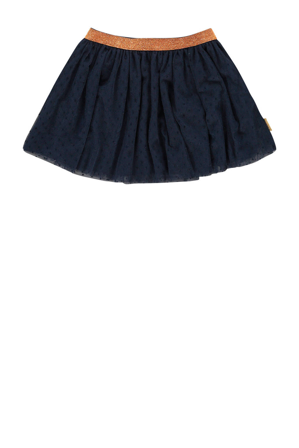 Vingino rok Qwen mini met glitters donkerblauw, Donkerblauw
